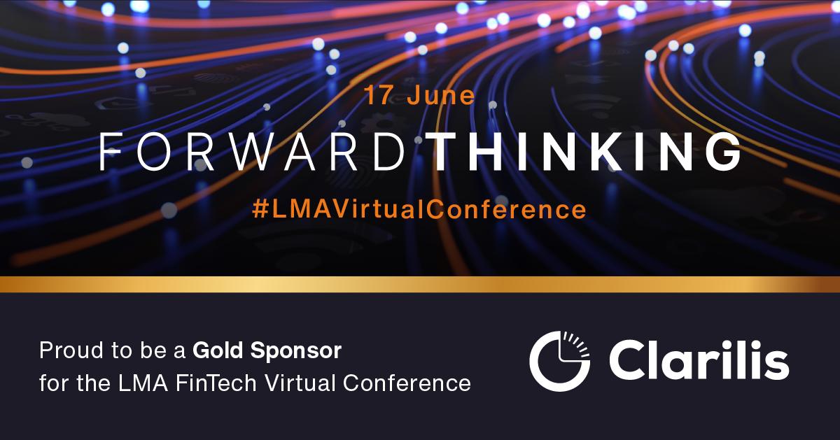 Join Clarilis at the Loan Market Association (LMA)'s virtual fintech conference