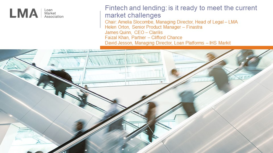 Clarilis' CEO James Quinn discusses the impact of technology on the syndicated loans market