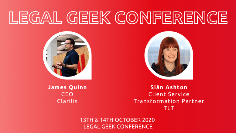 Clarilis and TLT at Legal Geek 2020