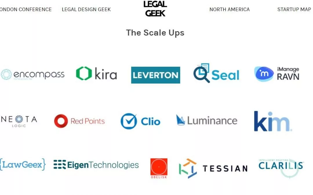 Clarilis Feature in Legal Geek's LawTech Startup and Scaleups Map
