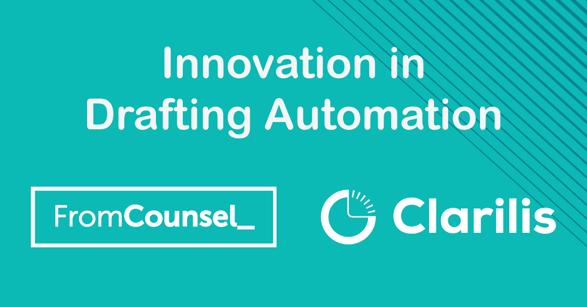 FromCounsel and Clarilis webinar to demo forthcoming automated M&A document suite