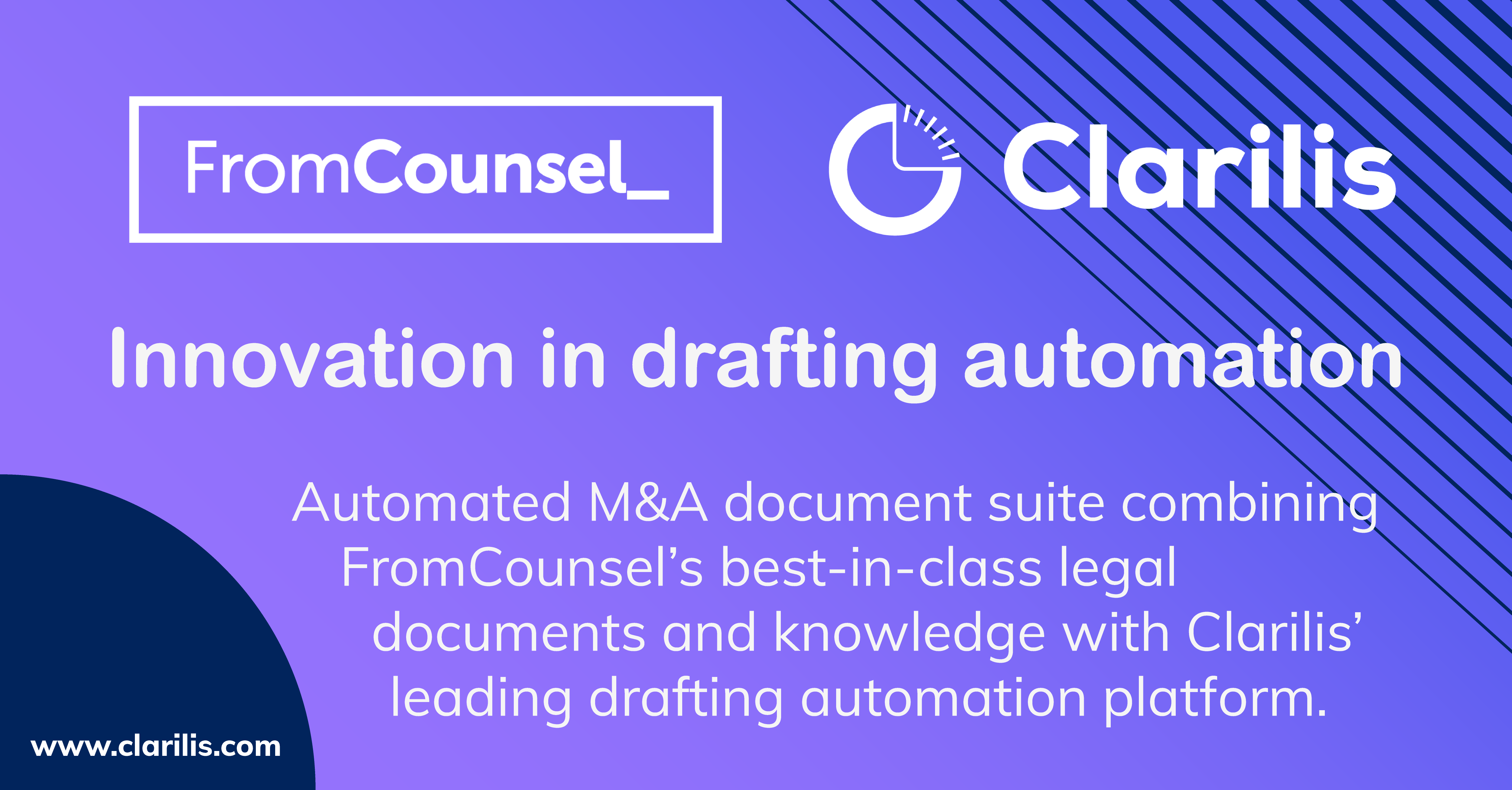 Innovation in drafting automation: Clarilis and FromCounsel partnership