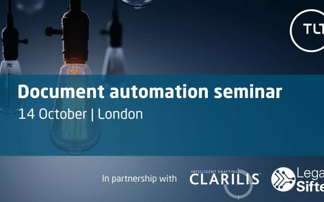 Document Automation Roundtable: the how, the why and the ROI