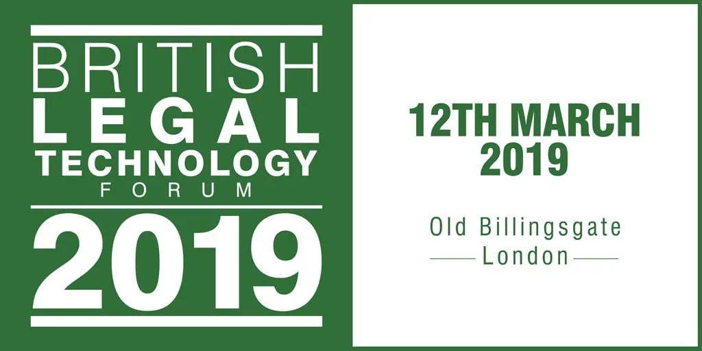 The British Legal Technology Forum 2019